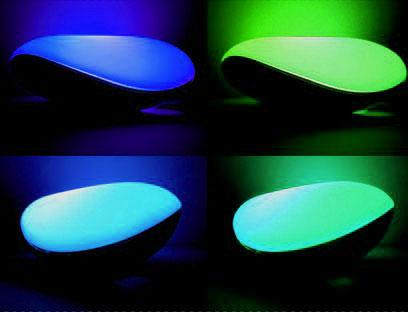Декоративный светильник «Адуки Ни» Синий-Зеленый