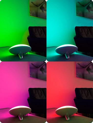 Интерьерный светильник Желе диск