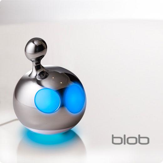 Декоративный светильник «Блоб и Флоу» Cиний